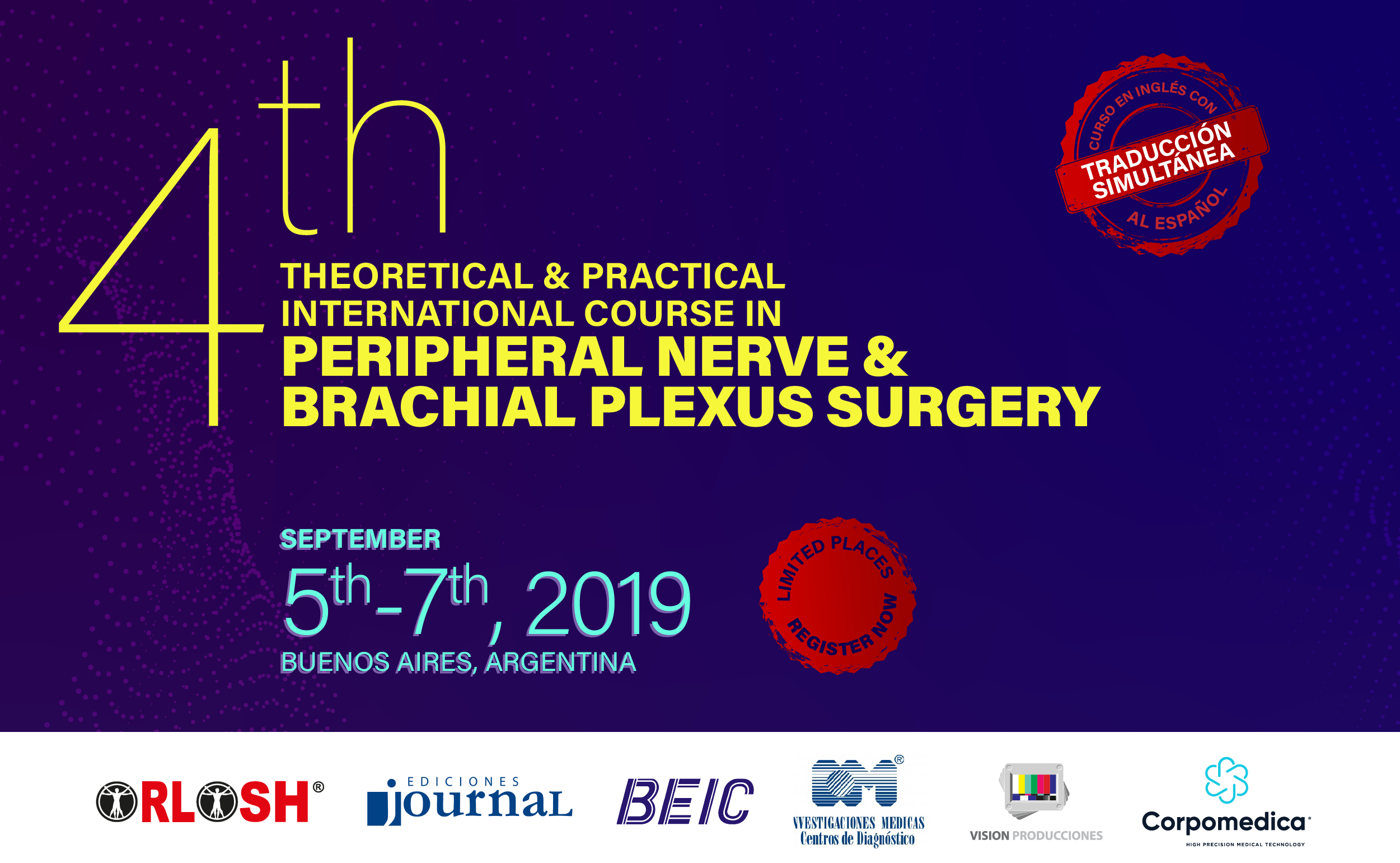 Theoretical & Practical International Course in Peripheral Nerve & Branchial Plexus Surgery